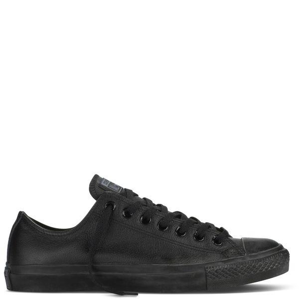zapatillas converse cuero negra all star hombre