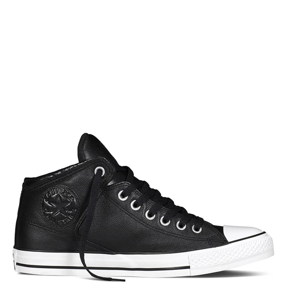 zapatillas piel converse hombre