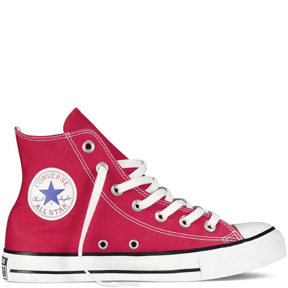 converse chuck taylor all star rojas altas
