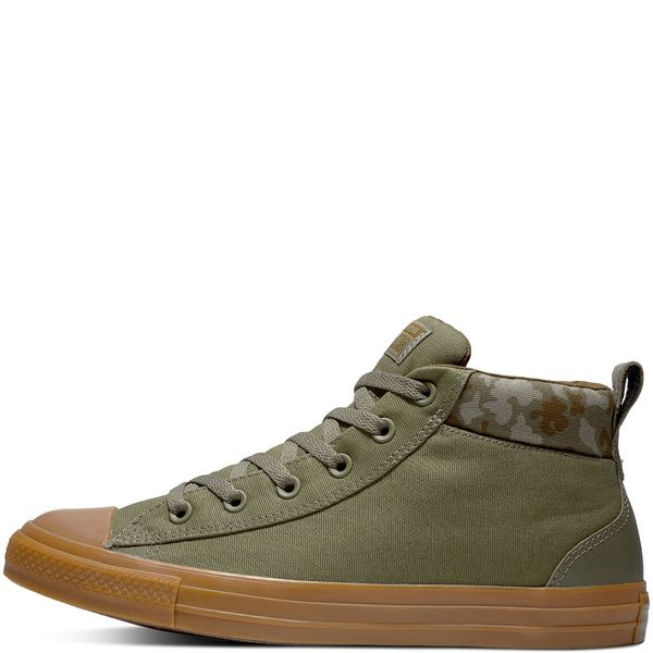 zapatillas converse hombres verdes