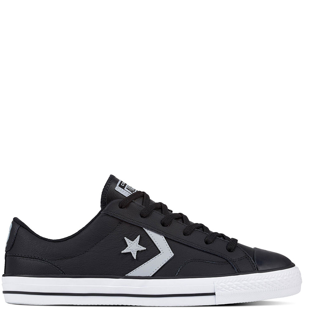 converse all star player negra