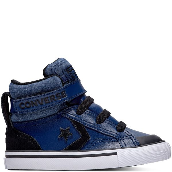 5aedfea7a 762011C-426. converse. Zapatilla Niño Pro Blaze Strap Caña Alta Azul