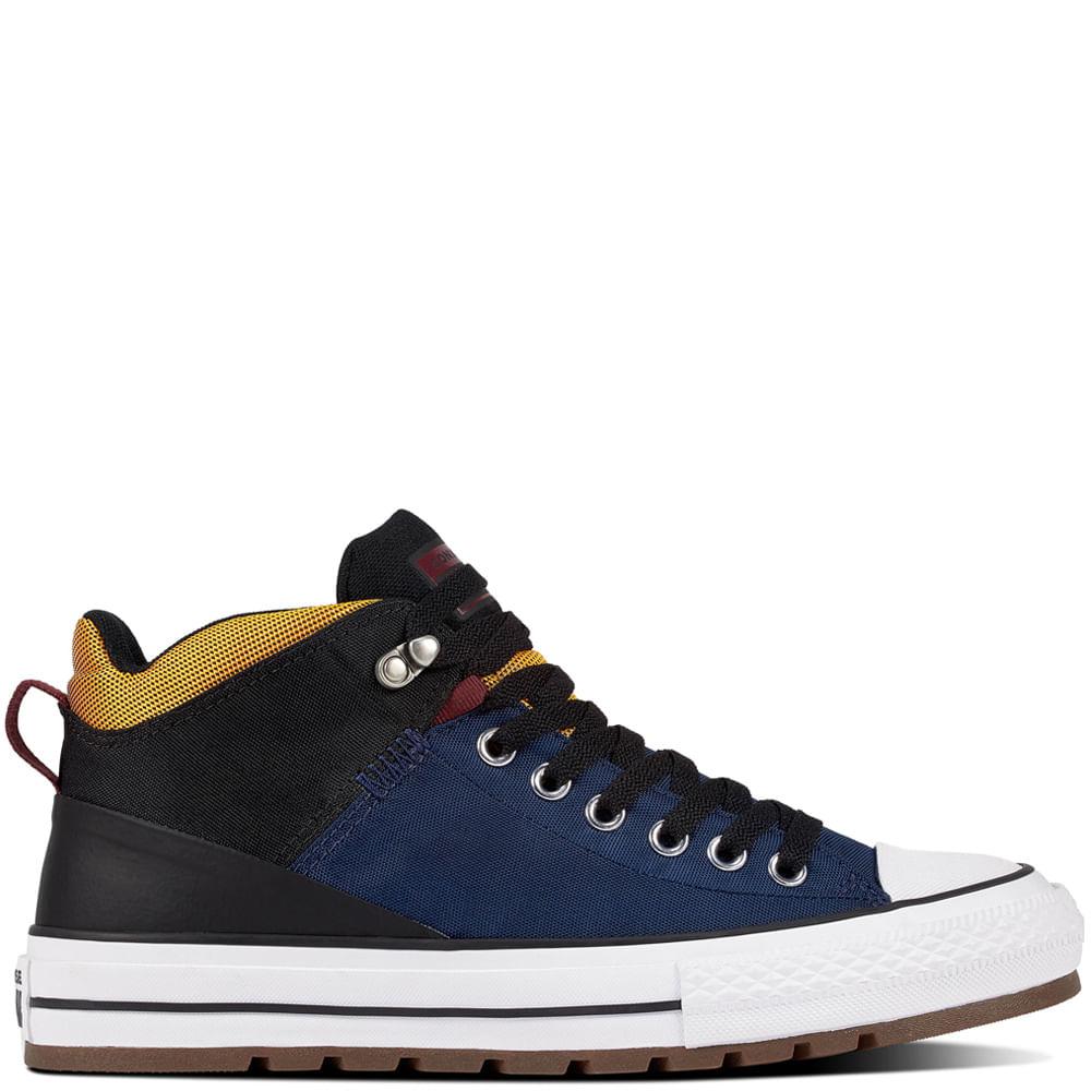 Zapatilla Hombre Chuck Taylor All Star Street Boot Caña Alta
