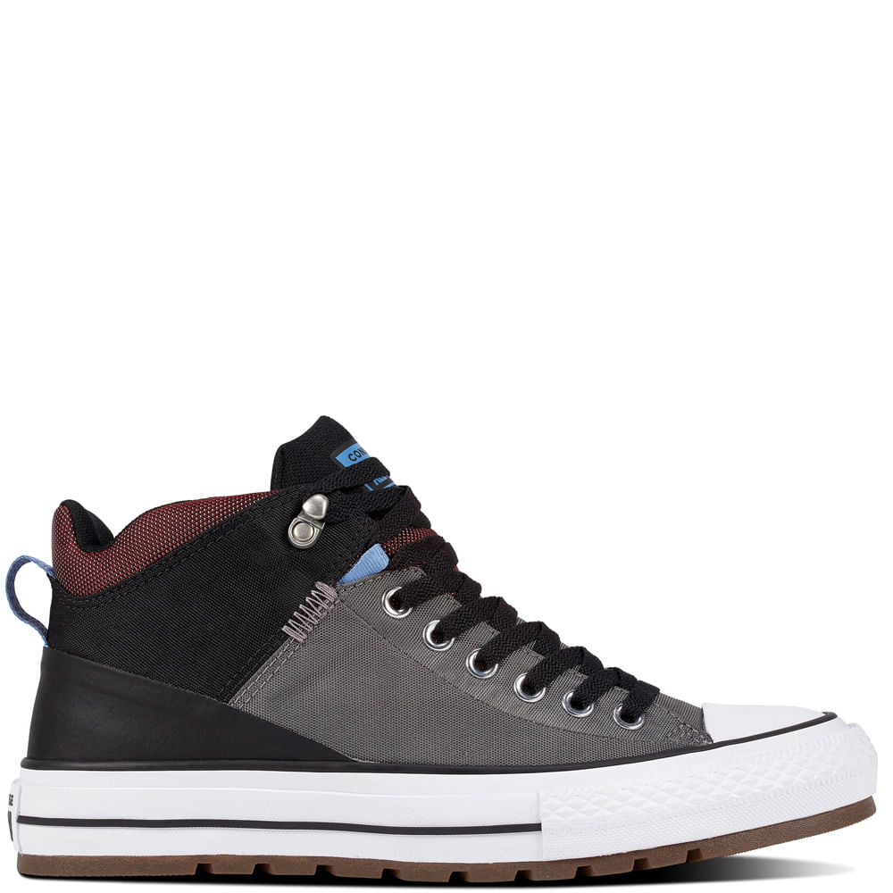 Zapatilla Hombre Chuck Taylor All Star Street Boot Caña Alta GrisZapatilla Hombre Chuck Taylor All Star Street Boot Caña Alta Gris