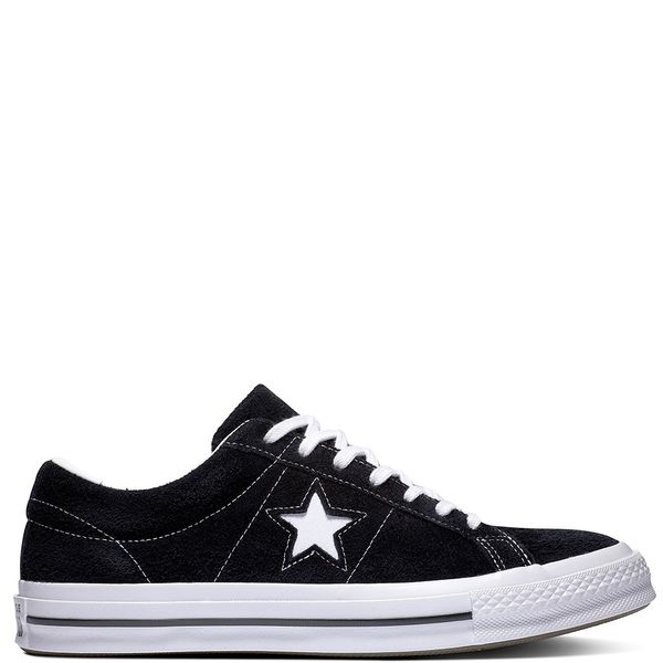 Zapatilla-Unisex-One-Star-Caña-Baja-Negra