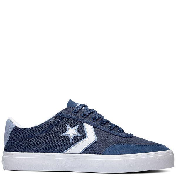 Zapatilla-Hombre-Converse-Courtlandt-Caña-Baja-Azul