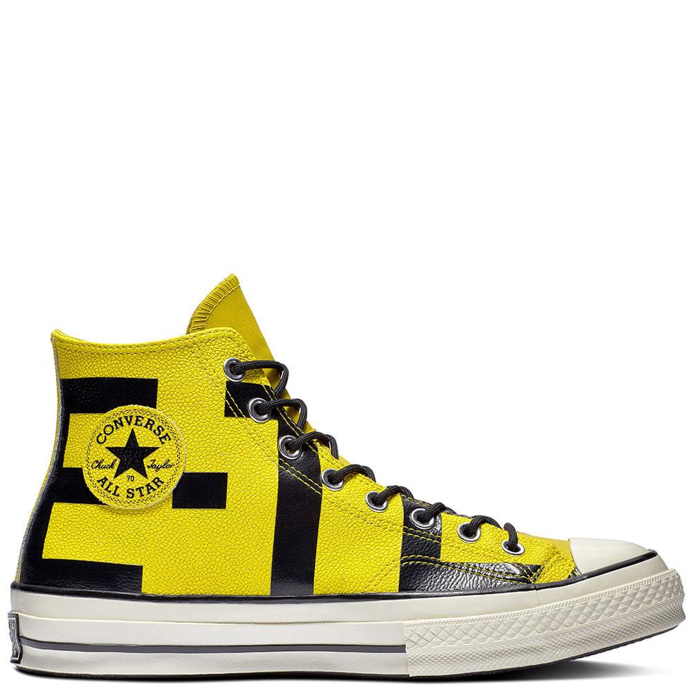 hombre converse amarillas