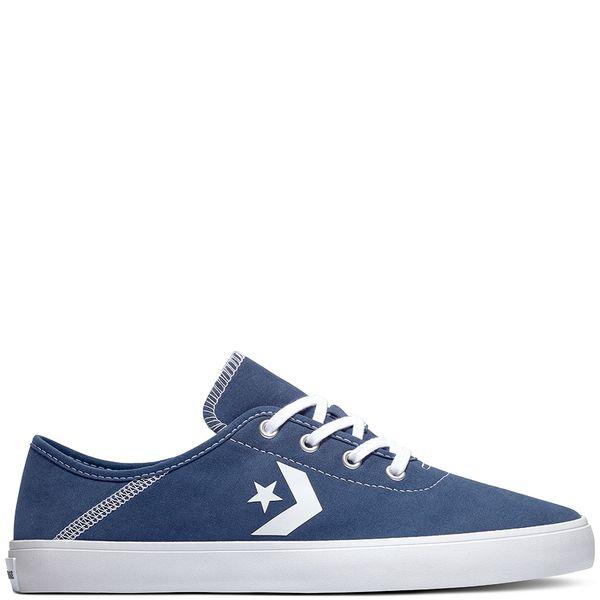 Zapatilla-Mujer-Converse-Costa-Caña-Baja-Azul