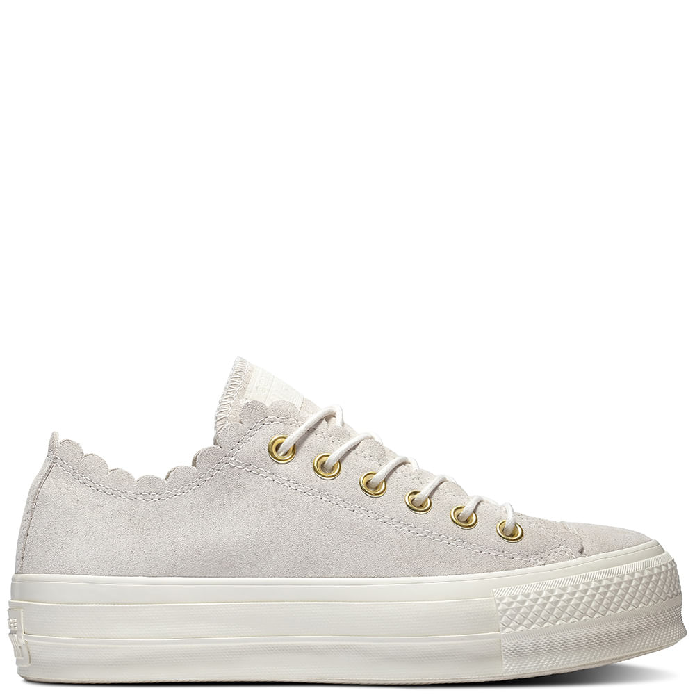 zapatillas converse mujer beige