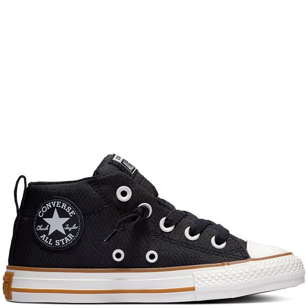 Zapatilla-Niño-Junior-Chuck-Taylor-All-Star-Street-Caña-Media-Negra