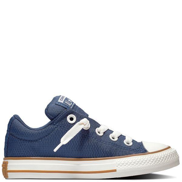 Zapatilla-Niño-Junior-Chuck-Taylor-All-Star-Street-Caña-Baja-Azul