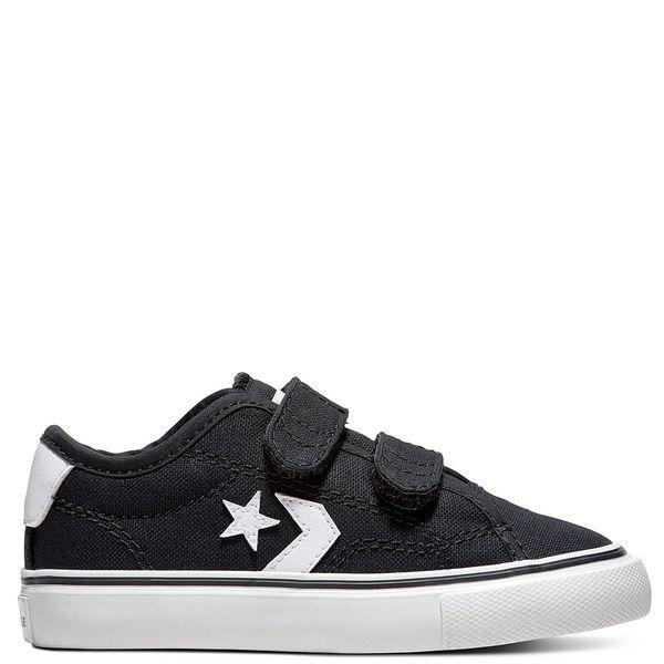 Zapatilla-Niño-Unisex-Star-Replay-2V-Caña-Baja-Negra