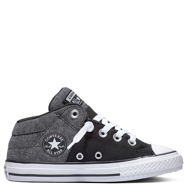 Zapatilla-Niño-Junior-Chuck-Taylor-All-Star-Axel-Caña-Media-Negra