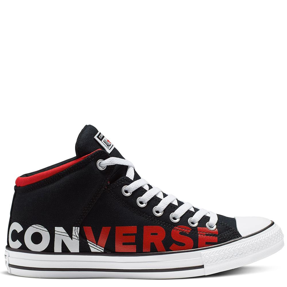 zapatillas converse hombre con caña