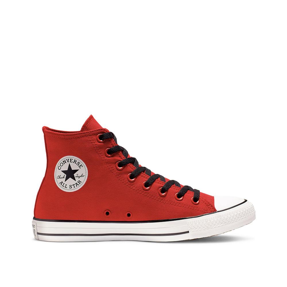 zapatillas converse hombre rojas